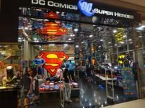 DC Comics super hero store Kuala Lumpur