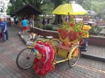 a trishaw Melaka