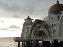 The Melaka Mosque and Sunset 2