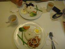 fancy meal in Kuala Lumpur