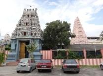 a hindu temple we stumbled upon