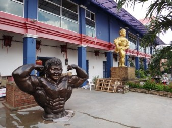 There was recently a body building competition in town