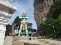 statue at Batu caves Kuala Lumpur