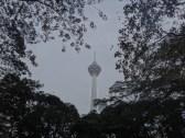 tower through the trees Kuala Lumpur