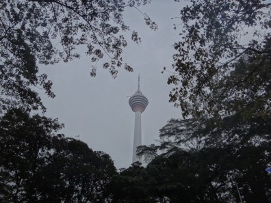 tower through the trees Kuala Lumpur
