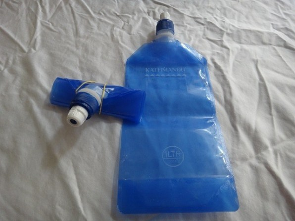 Collapsible 1 Litre Water Bottles