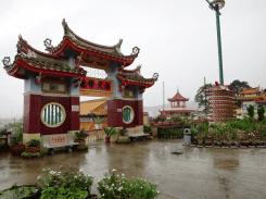 Chinese Gate at Kek Lok Si Temple Penang