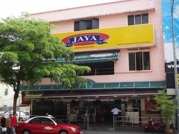 Jaya Restoran on Jalan Penang, Georgetown, Penang