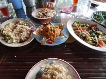 Our delicious meal at Bukit Genting