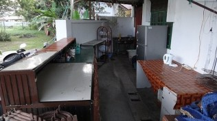 Shirin Guesthouse Common Kitchen Area