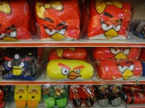 angry birds pillows