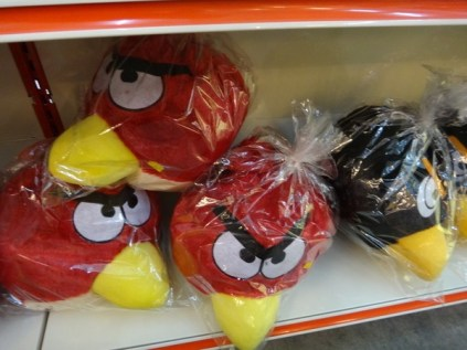 angry birds stuffed toys