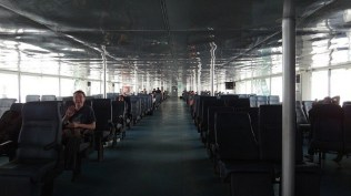 Inside the Seatran Ferry