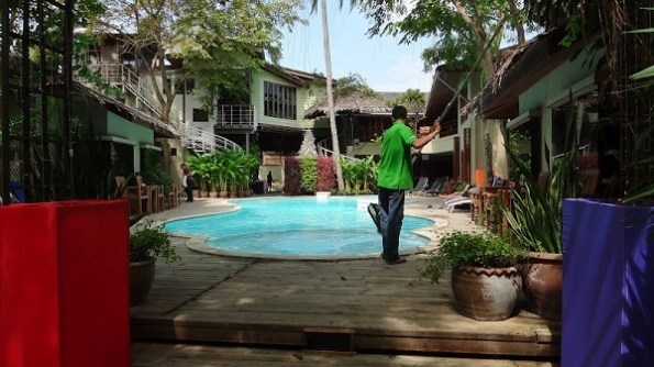 Tango Beach Resort Pool Area