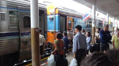 The train from Chumphon to Phetchaburi