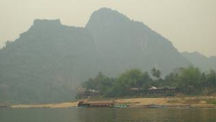 The pretty view on the Mekong River