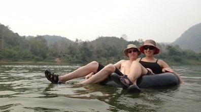 Nong Khiaw - Tubing With A View