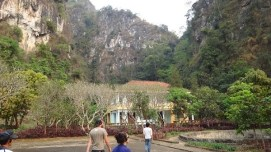 Vieng Xai - Communist Caves - Listening To The Audio Tour