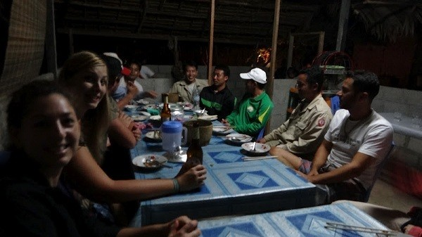 Vieng Xai - Drinking Lao Lao and Eating Bamboo Rat With The Locals