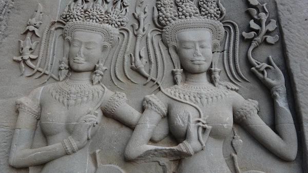 Details Inside Angkor Wat