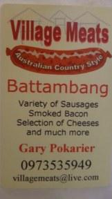 Battambang My Homestay Guesthouse - Gary - The Sausage King of Battambang