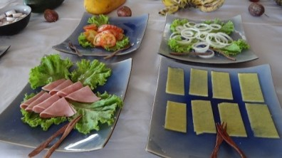 Beach Club Resort Sihanoukville - Buffet Breakfast Salad And Cheese Section