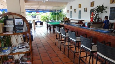 Beach Club Resort Sihanoukville - Restaurant, Bar, Pool Table