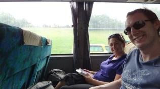 Catching The Reclining Seated Bus From Melaka To Kuala Lumpur
