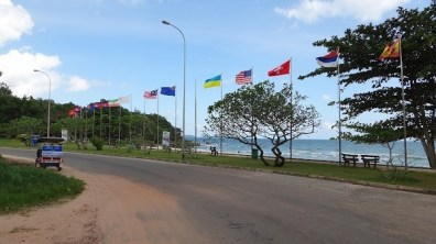 Sokha Beach, Sihanoukville - Flags Of The World