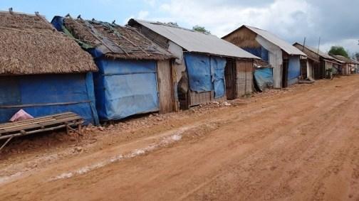 The Beaches of Sihanoukville - Shack Homes Along The Way