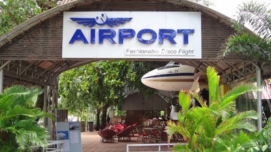 Victory Beach, Sihanoukville - Airport Themed Restaurant