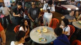 Devouring Durian on the Food Tour Malaysia in Bukit Bintang, Kuala Lumpur, Malaysia