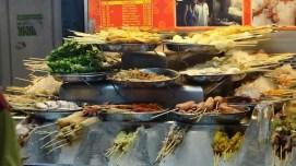 Malysian Fast Food On A Stick