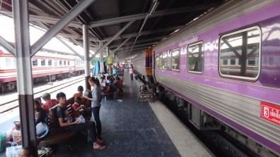 Train From Bangkok to Aranyaprathet