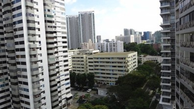 The View From Our House-Sit In Singapore