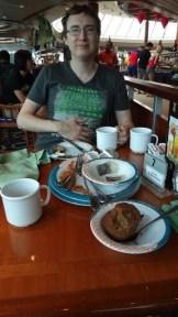 Andrew Stuffed After Breakfast