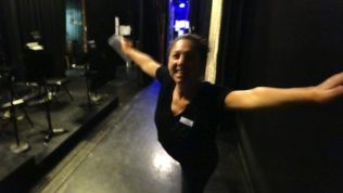 Backstage At The Theatre