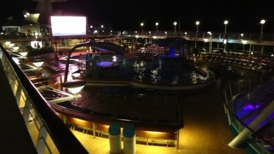 Legends Of The Sea Deck 9 At Night
