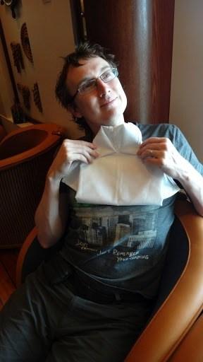 Napkin Folding Shirt By Andrew
