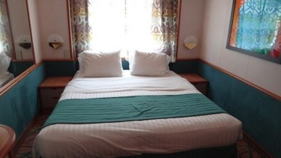 Oceanview Stateroom - Double Bed