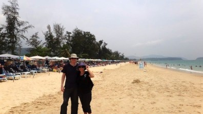 Us At Karon Beach, Phuket