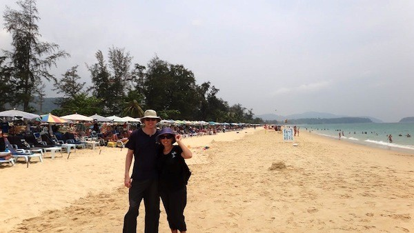 Us At Karon Beach, Phuket