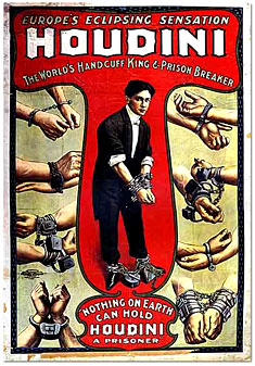 Harry Houdini, Hungarian-American Illusionist, Magician