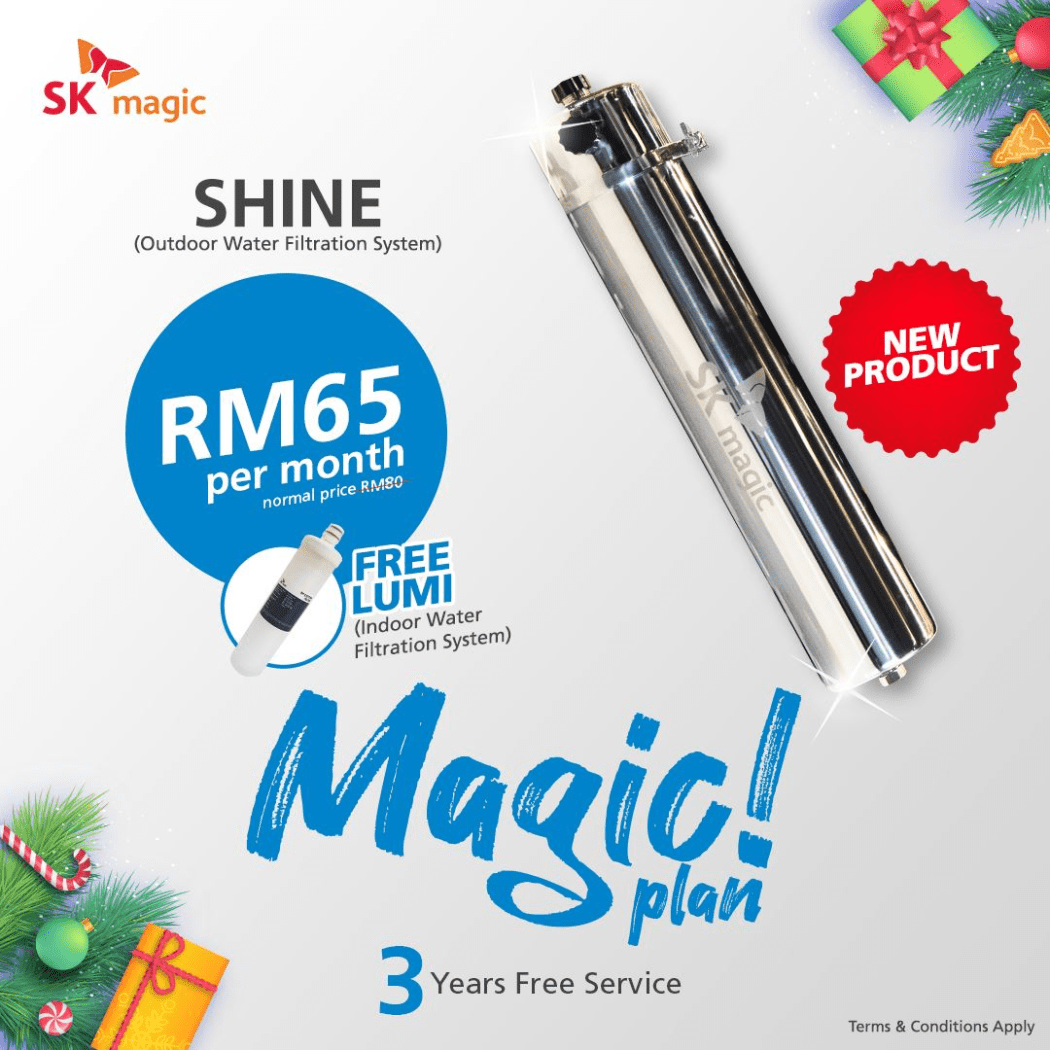 SK Magic Shine Outdoor Master Filter May Promotion