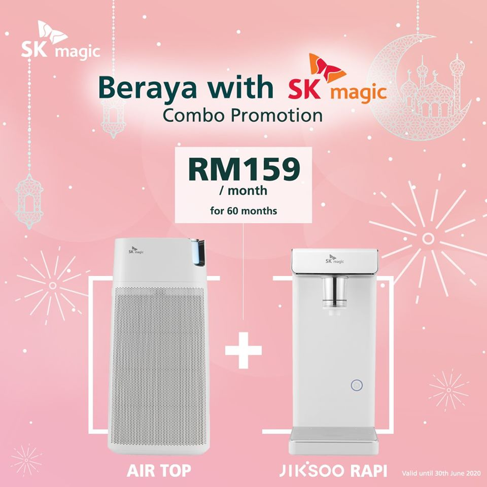 SK Magic Jiksoo Combo Rapi Raya Promotion