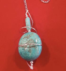 torquoise pendulum
