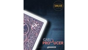 Card Production Gimmick Blue by Sorcier Magic - Trick