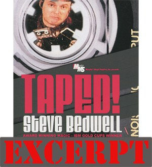 Parked Card video DOWNLOAD (Excerpt Taped) by Steve Bedwell