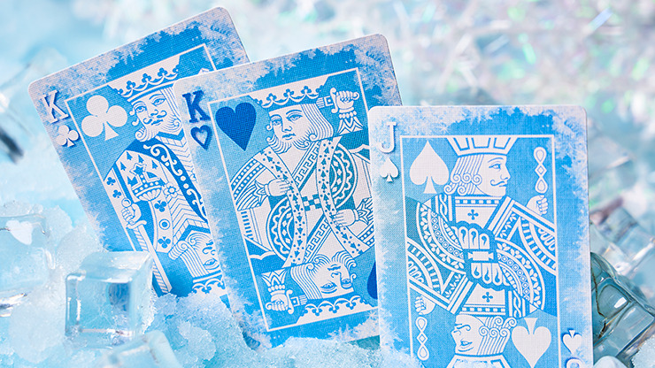 Solokid Frozen Playing Cards by BOCOPO