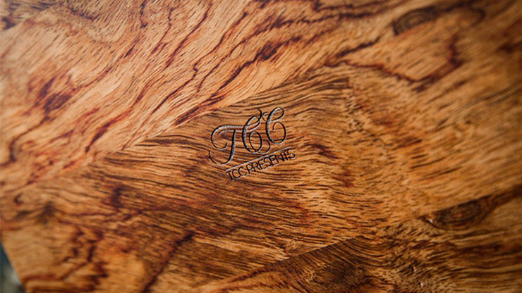 Rosewood Wooden Card Cabinet by TCC -Trick
